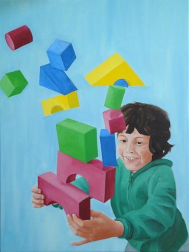 Apesanteur - cubes