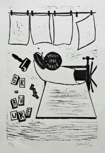 Print ink maker