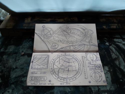 Navigation, matrices en cuivre