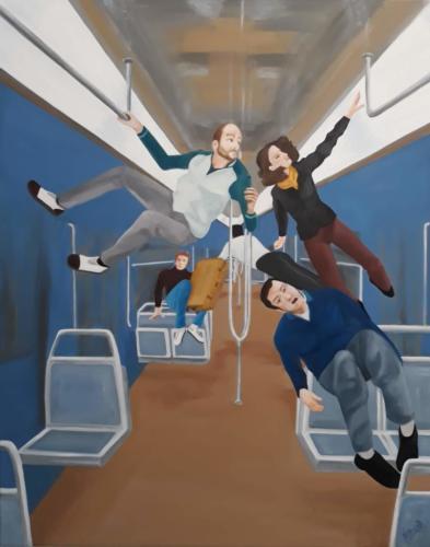 Apesanteur - métro